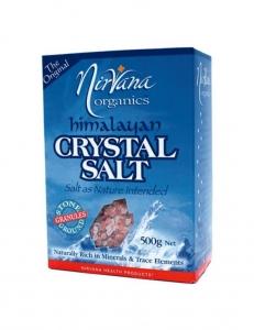 Nirvana Himalayan Crystal Salt Pack Granules 500g