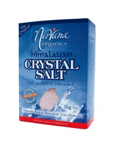 Nirvana Himalayan Crystal Salt Medium 1kg