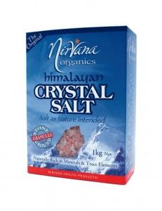 Nirvana Himalayan Crystal Salt Granules 1kg