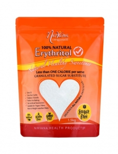 Nirvana Erythritol 100% Natural 1.5kg