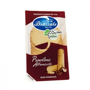 Brazzale Provolone Affumicato (Smoked) Cheese Slices 100g x 5