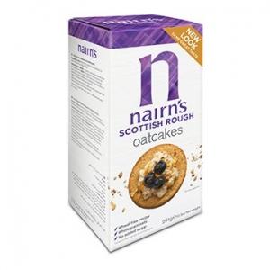 Nairn's Oatcakes Scottish Rough 291g x 10