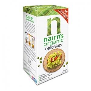 Nairn's Oatcakes Organic 250g x 12
