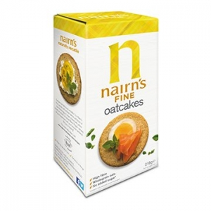 Nairn's Oatcakes Fine Milled 218g x 12