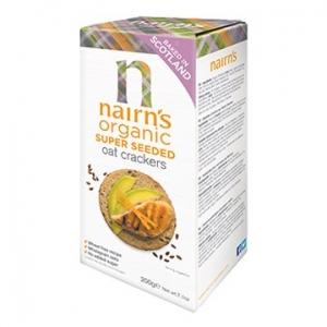 Nairn's Oat Crackers Super Seeded 200g x 8