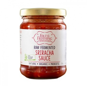 Foleys Organic Fermented Sriracha Sauce 250g x 6