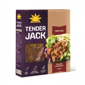Amazonia Tender Jack TERIYAKI Jackfruit 300g