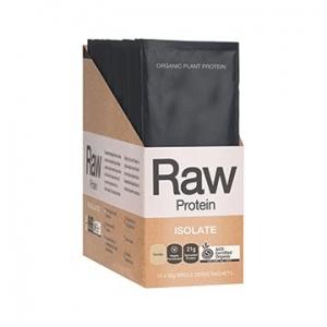 Amazonia Raw Protein Isolate Vanilla Sachets Counter Display 30g x 12
