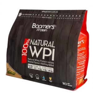 Boomers 100% Whey Protein Isolate 1kg