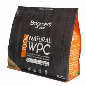 Boomers 100% Whey Protein Concentrate 1kg