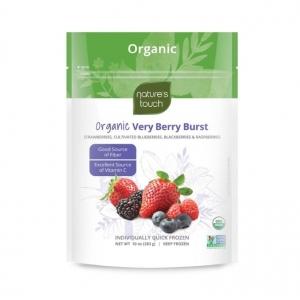 Natures Touch Frozen Organic Very Berry Burst 300g x 12