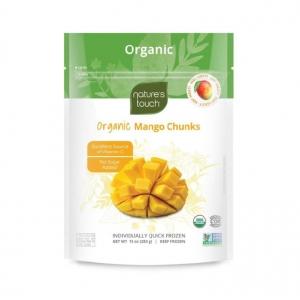 Natures Touch Frozen Organic Mango Chunks 300g x 12
