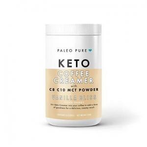 Paleo Pure Coffee Creamer w MCT Powder VANILLA BLISS 250g