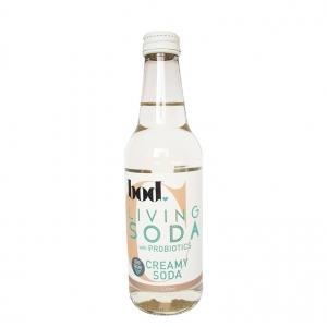 BOD Probiotic Sugar Free Soda CREAMY SODA 330ml x 12