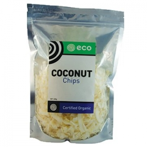 Eco Foods Organic Coconut Chips 400g