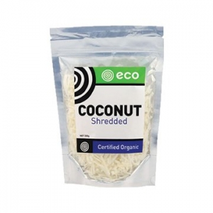 Eco Foods Organic Coconut Shredded 200g
