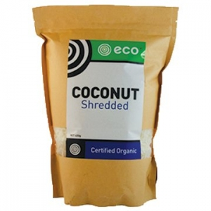 Eco Foods Organic Coconut Shredded 400g