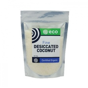 Eco Foods Organic Fine Desiccated Coconut 200g