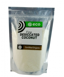 Eco Foods Organic Fine Desiccated Coconut 400g