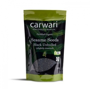 Carwari Organic Sesame Seeds Black 200g