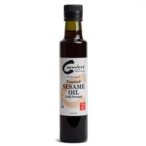 Carwari Organic Sesame Oil Toasted 250ml