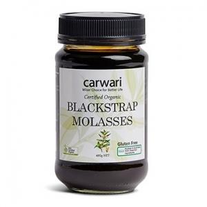 Carwari Organic Blackstrap Molasses 480g