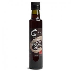 Carwari Organic Black Toasted Sesame Oil 250ml