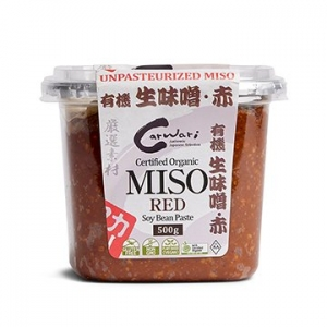Carwari Organic Miso RED Soy Bean Paste 500g
