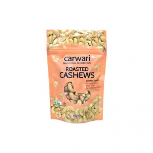 Carwari Organic Roasted Cashews 150g