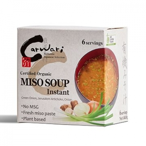 Carwari Organic Instant Miso Soup 6 serves