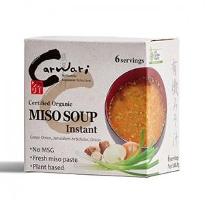 Carwari Organic Instant Miso Soup 6 Serves
