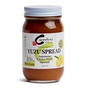 Carwari Organic Yuzu Spread 260g