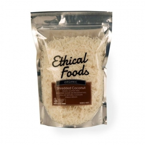 Ethical Foods Organic Shredded Coconut 400g