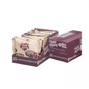 Table of Plenty Dark Chocolate + Coconut Rice Thins 30g x 10