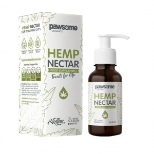 Pawsome Organics Hemp Nectar 100ml (for Cats+Dogs)