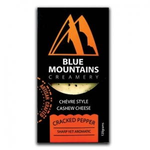Blue Mountains Creamery Cashew Cheese Cracked Pepper 120g x 6