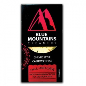 Blue Mountains Creamery Cashew Cheese Chilli & Chive 120g x 6