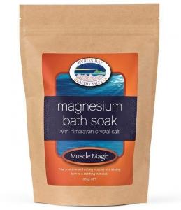BBHS Co Muscle Magic Magnesium Bath Soak w/Himalayan Salt 600g