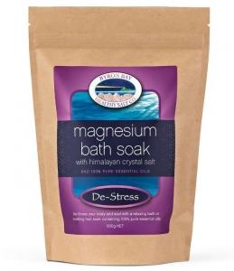 BBHS Co De-Stress Magnesium Bath Soak w/Himalayan Salt 600g