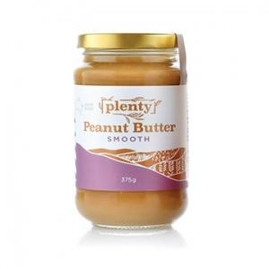 Plenty Peanut Butter Smooth 375g