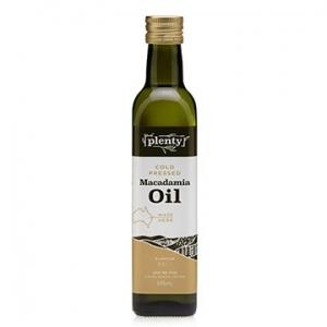 Plenty Cold Pressed Macadamia Oil 375ml