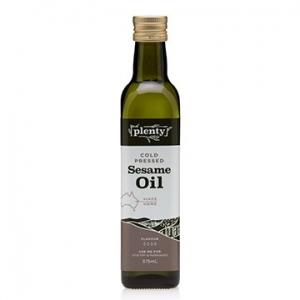 Plenty Cold Pressed Sesame Oil  375ml