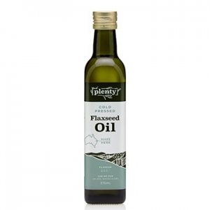 Plenty Cold Pressed Flaxseed Oil 375ml