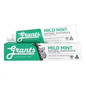 Grants Mild Mint Natural Toothpaste 110g