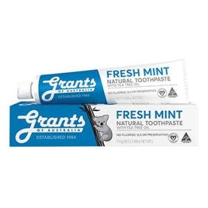 Grants Fresh Mint Natural Toothpaste 110g