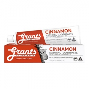 Grants Cinnamon Zest Toothpaste 110g