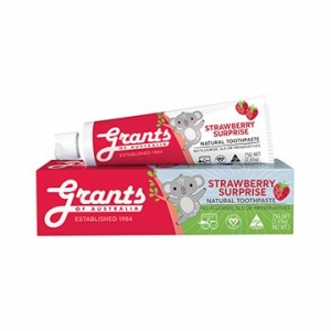 Grants Strawberry Surprise KIDS Toothpaste 75g