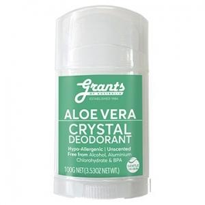 Grants ALOE VERA Crystal Deodorant 100g