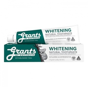 Grants Whitening with Spearmint Toothpaste 110g