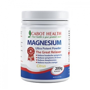 Health Directions Magnesium Ultra Potent Citrus 200g Powder